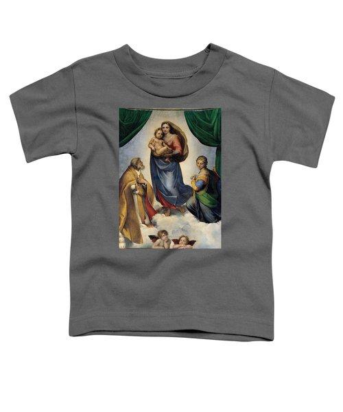 The Sistine Madonna Toddler T-Shirt