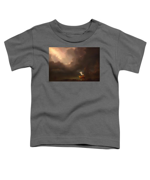 The Voyage Of Life - Old Age Toddler T-Shirt