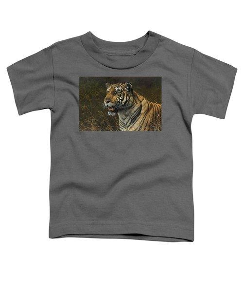 Tiger Portrait Toddler T-Shirt