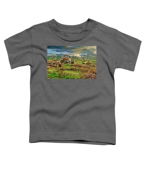 Tornado Truck Toddler T-Shirt