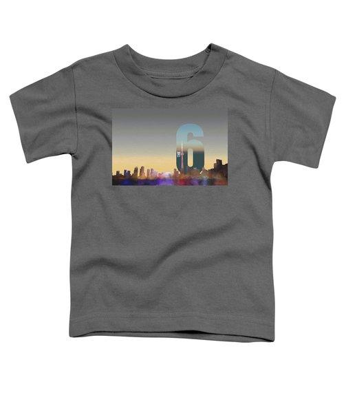 Toronto Skyline - The Six Toddler T-Shirt