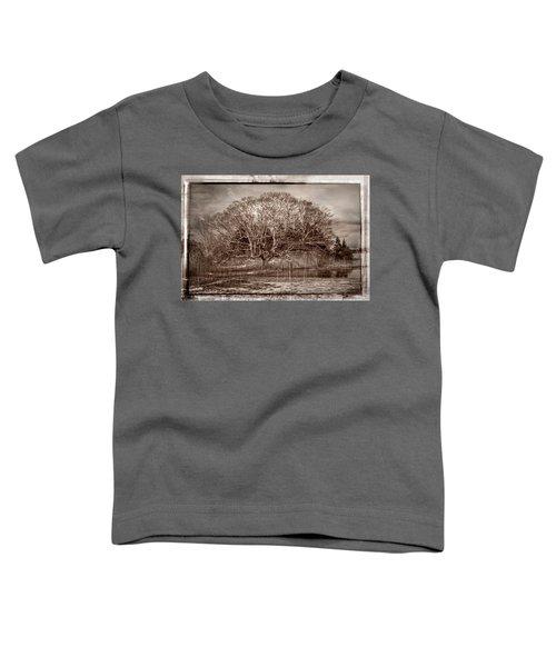 Tree In Marsh Toddler T-Shirt