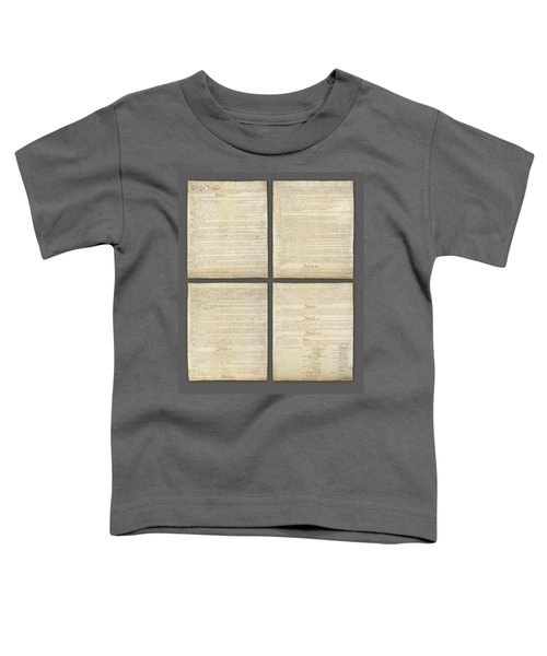 United States Constitution, Usa Toddler T-Shirt