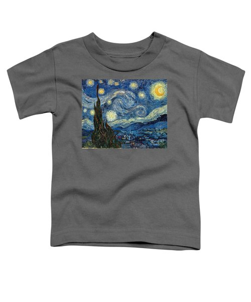 Van Gogh Starry Night Toddler T-Shirt