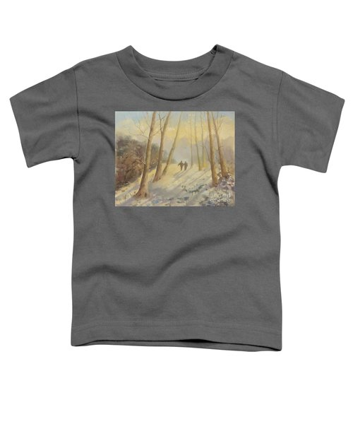 Walking In Sunshine Toddler T-Shirt