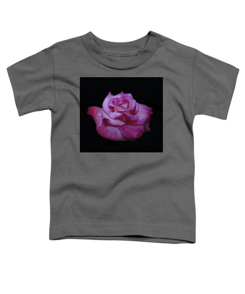 Watered Red Rose Toddler T-Shirt