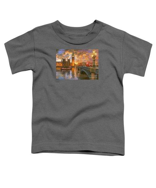 Westminster Sunset Toddler T-Shirt
