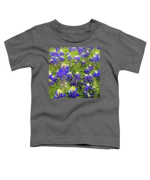 Wild Bluebonnets Blooming Toddler T-Shirt
