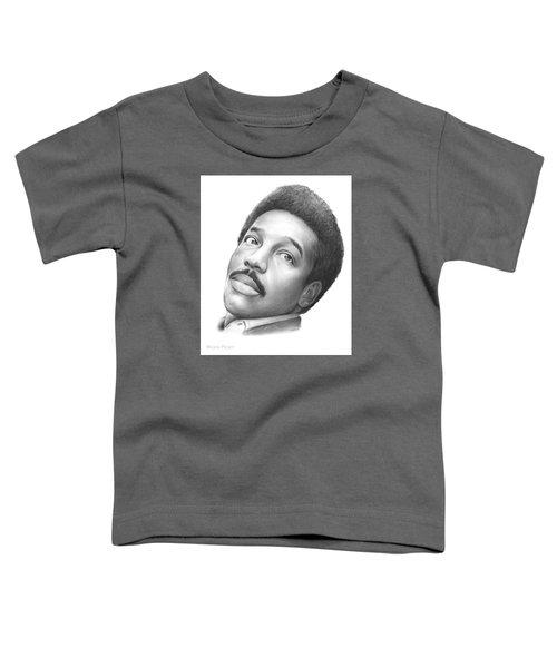 Wilson Pickett Toddler T-Shirt by Greg Joens