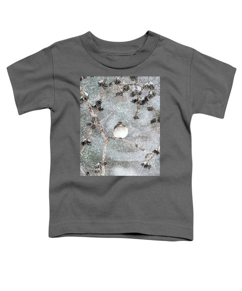 Winter Mockingbird Toddler T-Shirt