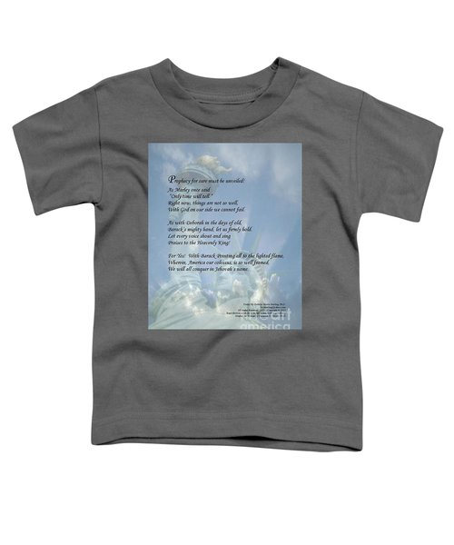 Writer, Artist, Phd. Toddler T-Shirt by Dothlyn Morris Sterling