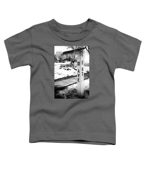 10 Ave And E St Belmar New Jersey Toddler T-Shirt