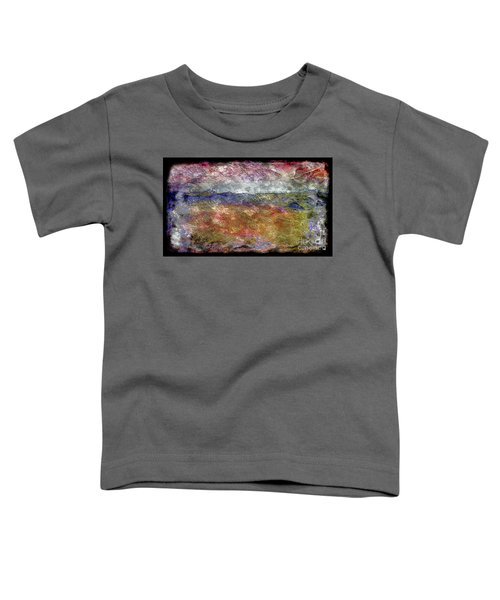 10c Abstract Expressionism Digital Painting Toddler T-Shirt
