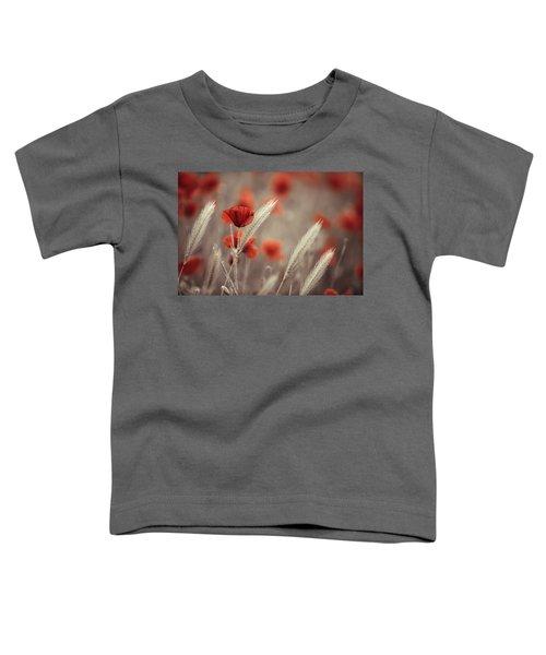 Summer Poppy Meadow Toddler T-Shirt