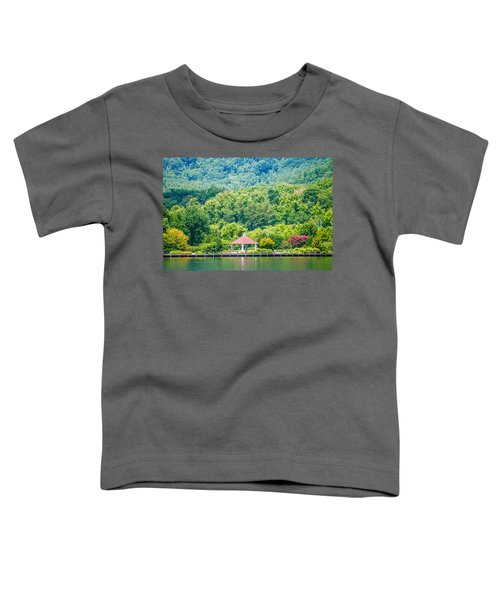 Scenery Around Lake Lure North Carolina Toddler T-Shirt