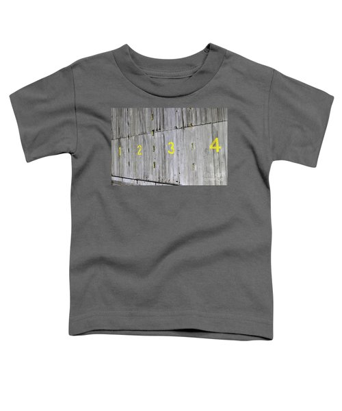 Toddler T-Shirt featuring the photograph 1234 by Stephen Mitchell