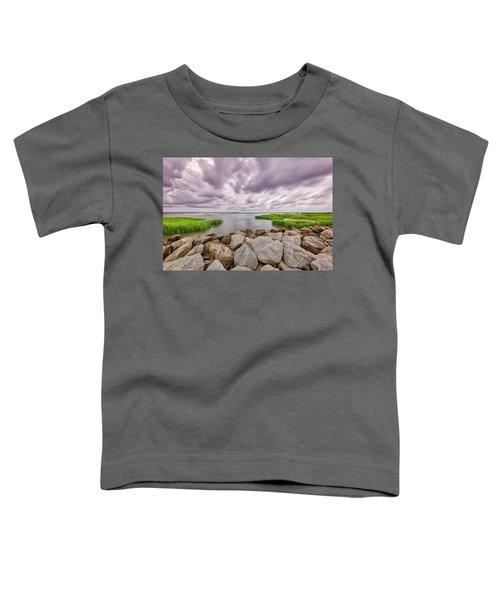 Seascape Of Hilton Head Island Toddler T-Shirt