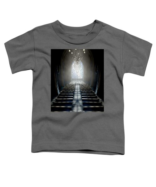 Stained Glass Window Church Toddler T-Shirt