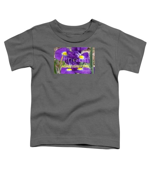 Toddler T-Shirt featuring the photograph Christmas Card by Rod Ismay