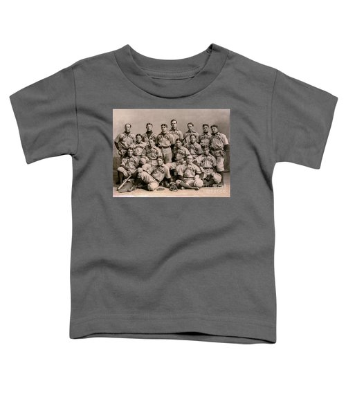 1896 Michigan Baseball Team Toddler T-Shirt