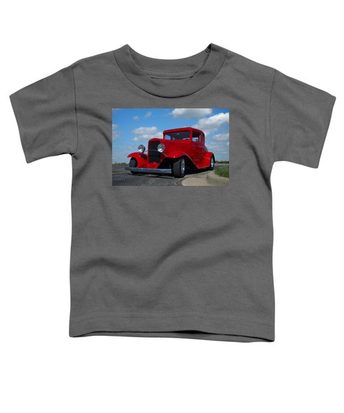1930 Chevrolet Coupe Hot Rod Toddler T-Shirt