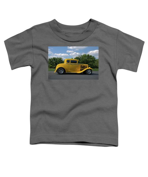 1931 Ford Coupe Hot Rod Toddler T-Shirt