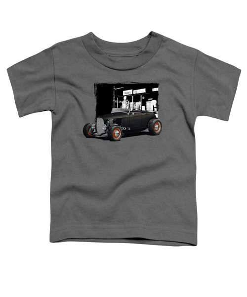 1932 Ford At Gas Station Toddler T-Shirt