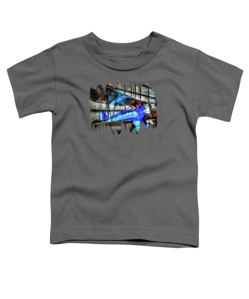 1932 Waco Biplane Toddler T-Shirt