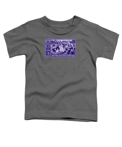 1939 Baseball Centennial Toddler T-Shirt by Historic Image