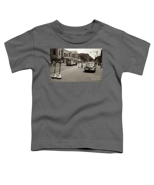 1940's Inwood Trolley Toddler T-Shirt