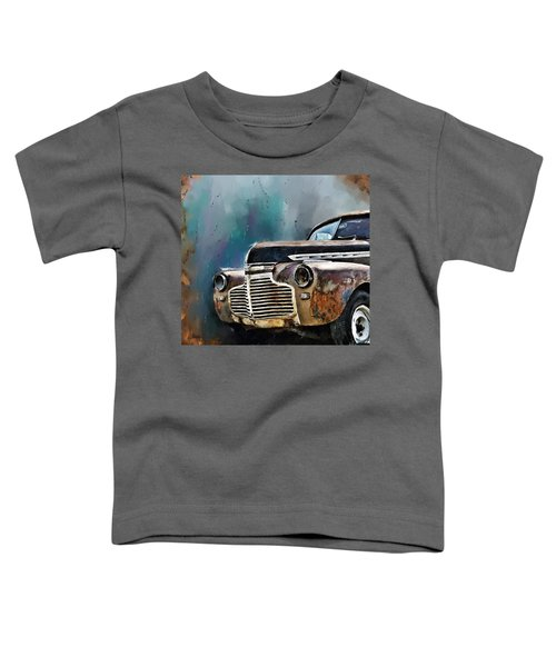 Toddler T-Shirt featuring the digital art 1941 Chevy by Susan Kinney