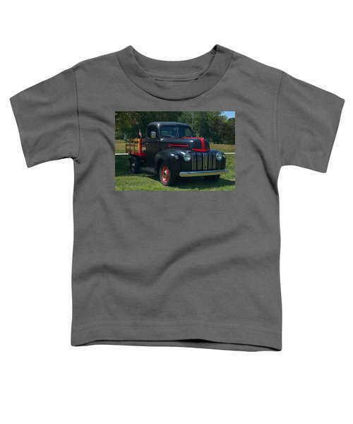 1946 Ford Stake Side Truck Toddler T-Shirt