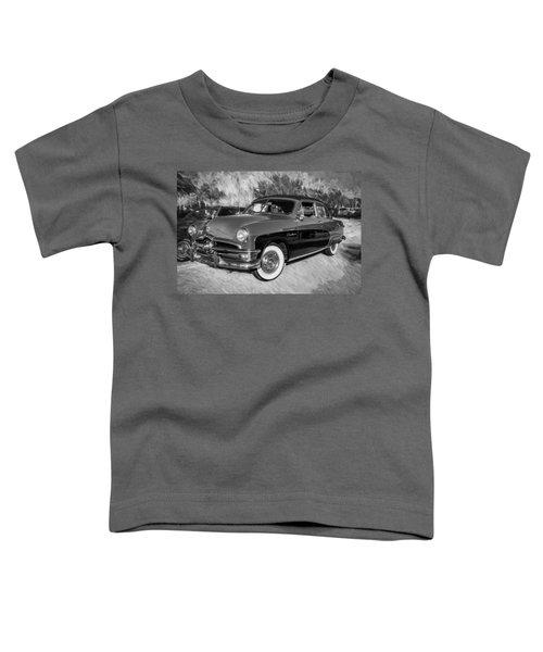 1950 Ford 2 Door Crestliner Painted Bw    Toddler T-Shirt