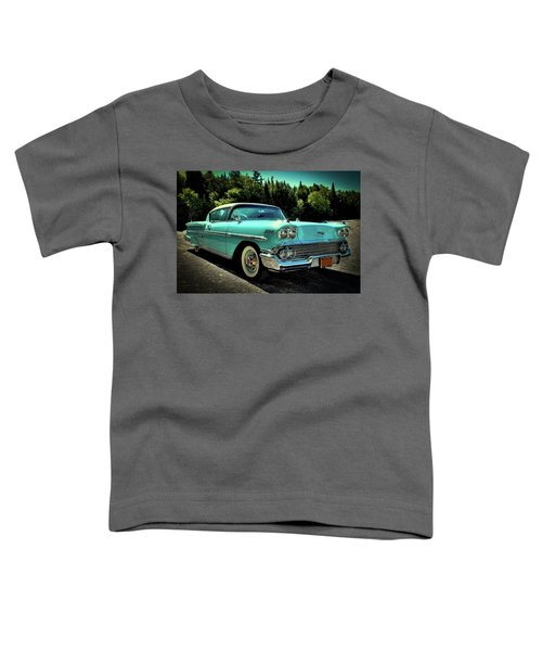 1958 Chevrolet Impala Toddler T-Shirt