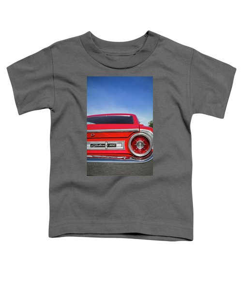 1964 Ford Galaxie 500 Taillight And Emblem Toddler T-Shirt