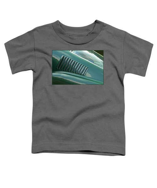 1967 Mustang Fastback Vent Toddler T-Shirt