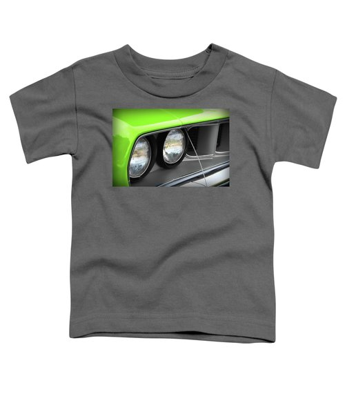 1971 Plymouth Barracuda Cuda Sublime Green Toddler T-Shirt