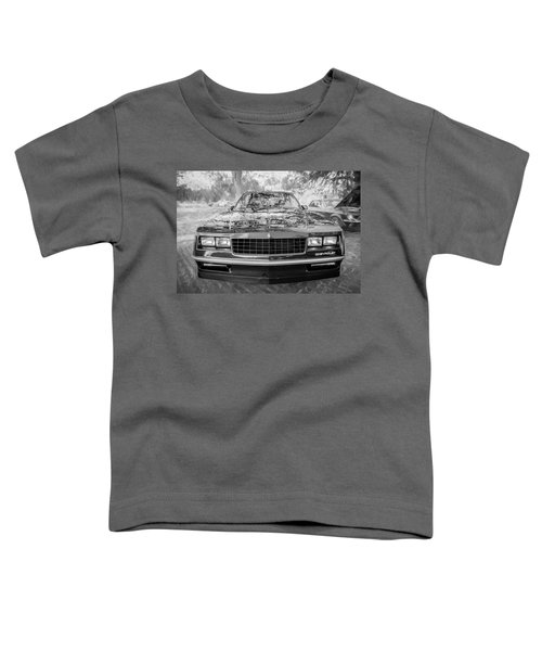 1987 Chevrolet Monte Carlo Ss Coupe Bw C122  Toddler T-Shirt