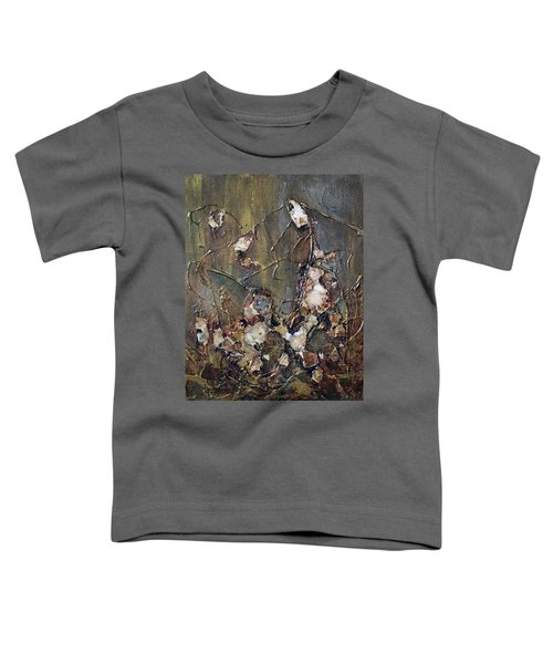 Toddler T-Shirt featuring the painting Autumn Leaves by Joanne Smoley