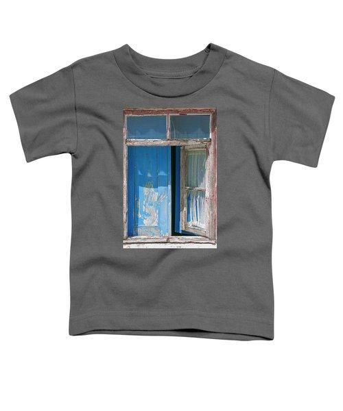 Blue Window Toddler T-Shirt