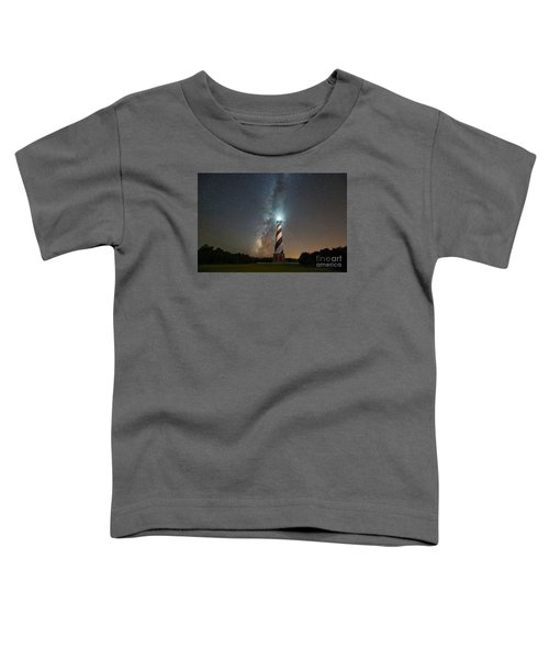 Cape Hatteras Lighthouse Milky Way Toddler T-Shirt