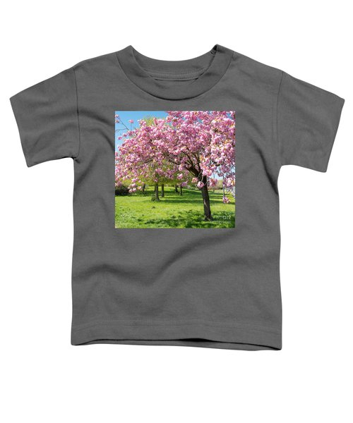 Cherry Blossom Tree Toddler T-Shirt