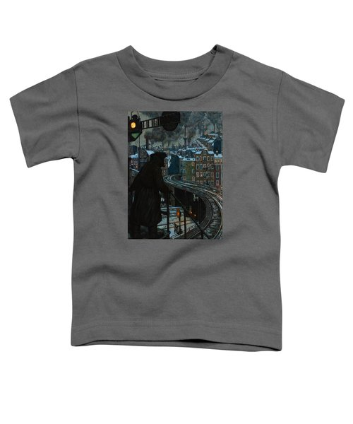 City Of Workers Toddler T-Shirt