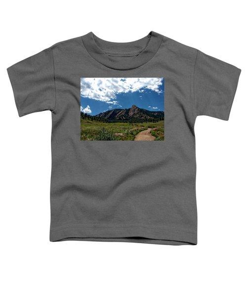 Colorado Landscape Toddler T-Shirt