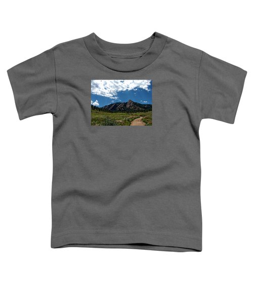 Colorado Landscape Toddler T-Shirt