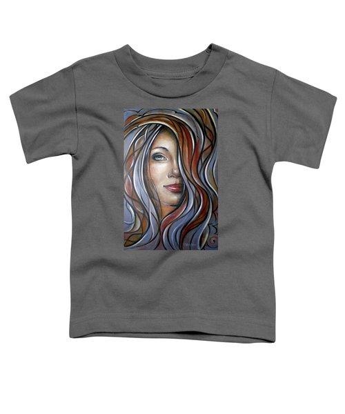 Cool Blue Smile 070709 Toddler T-Shirt