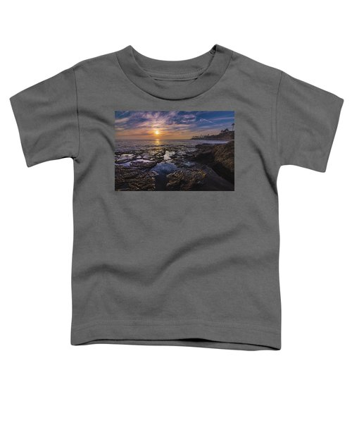 Diver's Cove Sunset Toddler T-Shirt