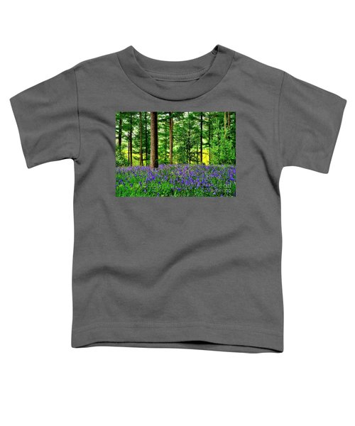 English Bluebell Wood Toddler T-Shirt