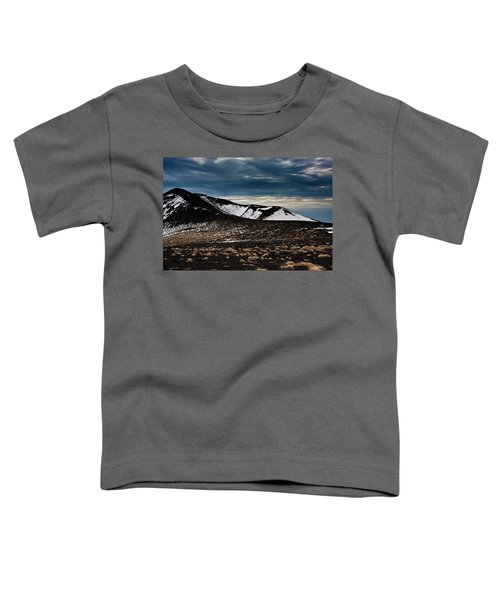 Etna, Red Mount Crater Toddler T-Shirt