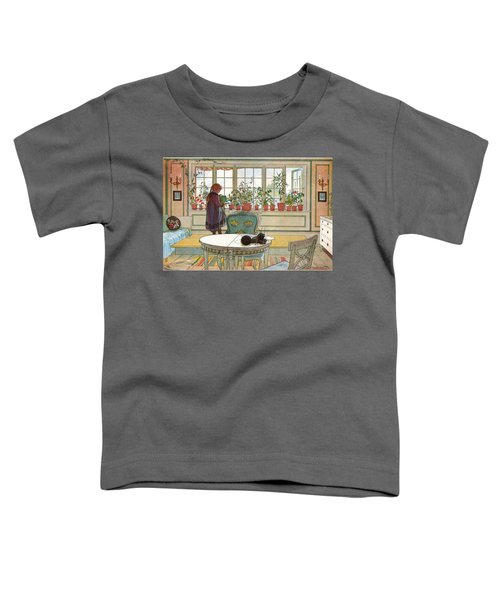 Flowers On The Windowsill Toddler T-Shirt